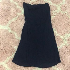 Navy blue gap dress